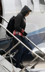 Kristen Stewart Arrives in Park City By Private Jet